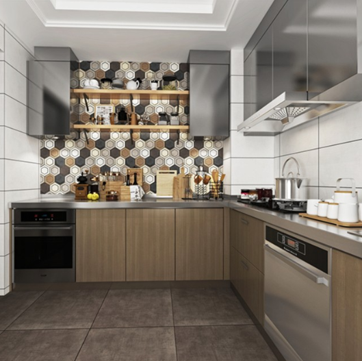 How to Choose Right Porcelain Tiles for Your Lovely Kitchen Wall?