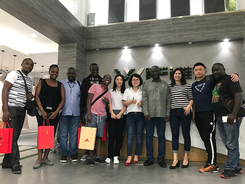 Ugandan Customers Visited Us for Long-term Cooperation