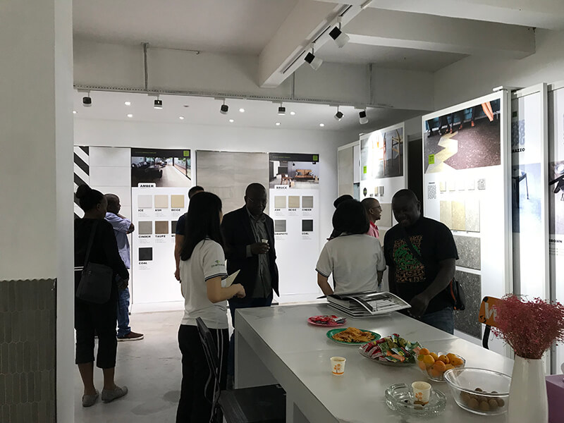 Ugandan Customers Visited Our Showroom
