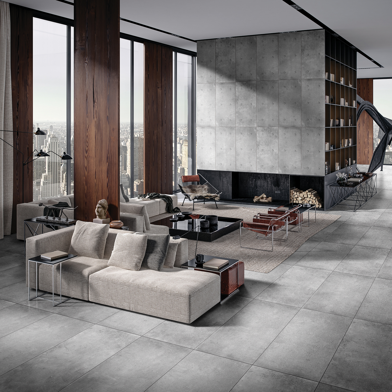 60x120cm Cement Look Tile|New Designs|Taku